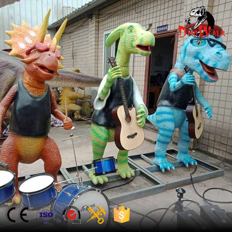 Most Popular Animatronic Dinosaur Band Is Finshed