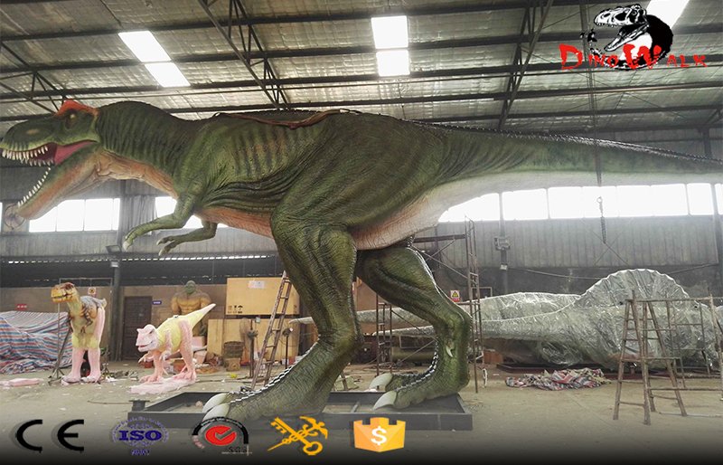 we are making one 15m long animatronic T-rex for our client in Africa