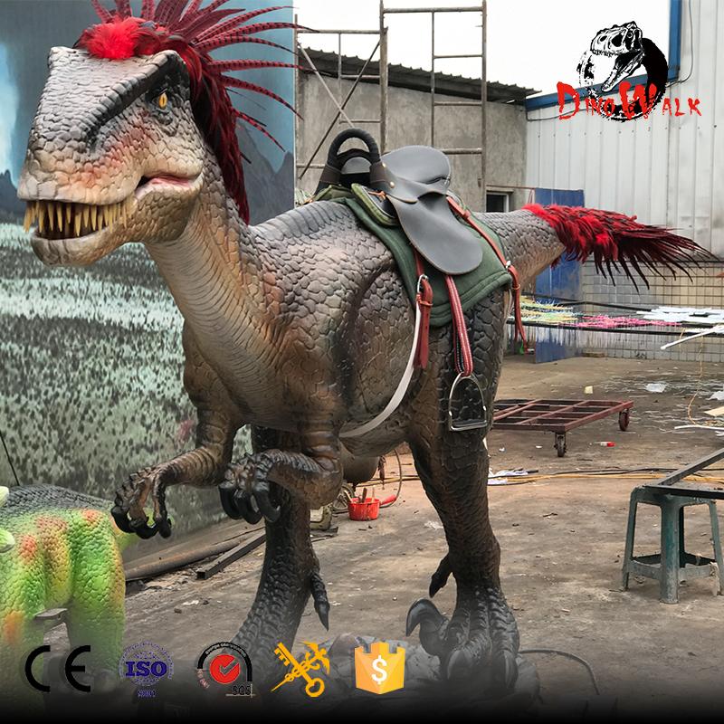 new robotic dinosaur ride arrived in Peru