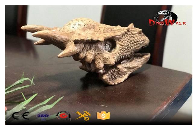 Dinosaur Fossil Head Replica Model
