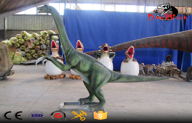 Animatronic Dinosaur Model