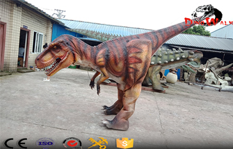 Realistic Dinosaur Costume With Hidden Legs