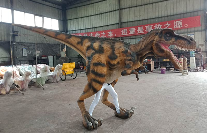 adult walking dinosaur costume for jurassic park
