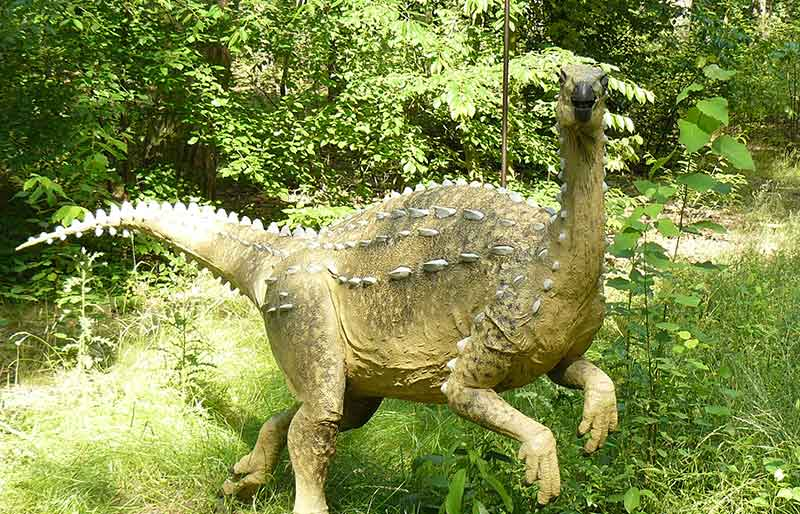 High Quality Fiberglass Dinosaur statue