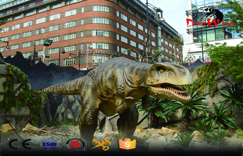 Dinos Park Project Mechanicals Real Size Simulation Animatronic Dinosaur Model