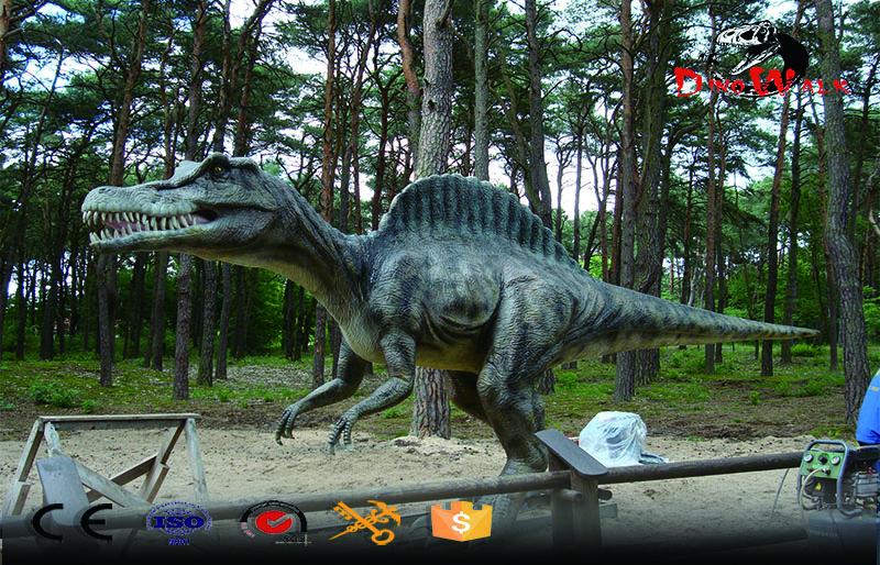 jurassic park realistic Life Size animatronic Spinosaurus robotic dinosaur