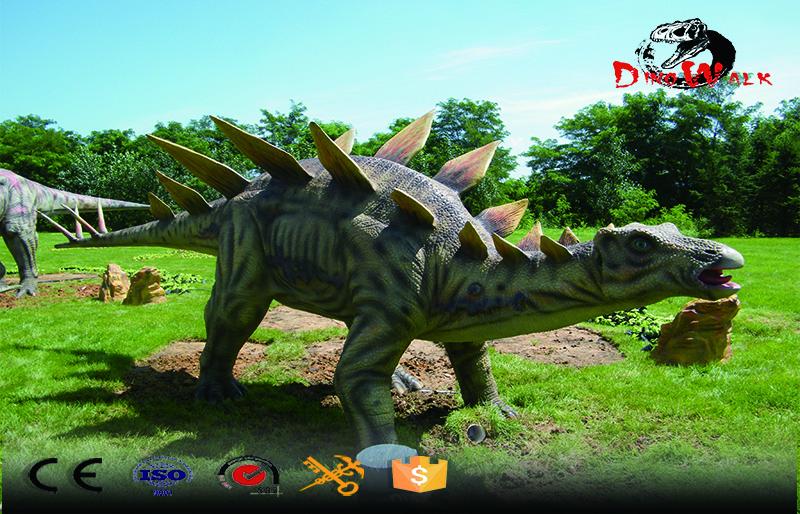 Animatronic Dinosaur simulation Stegosaurus model