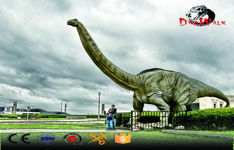Animatronic Dinosaur simulation Brontosaurus model