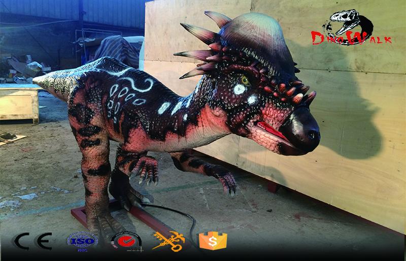 Animatronic Dinosaur simulation Stygimoloch model