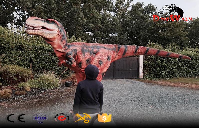 Hidden Legs Dinosaur Props Realistic Dinosaur suit