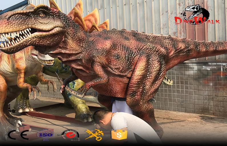 traje de dinosaurios animatronic