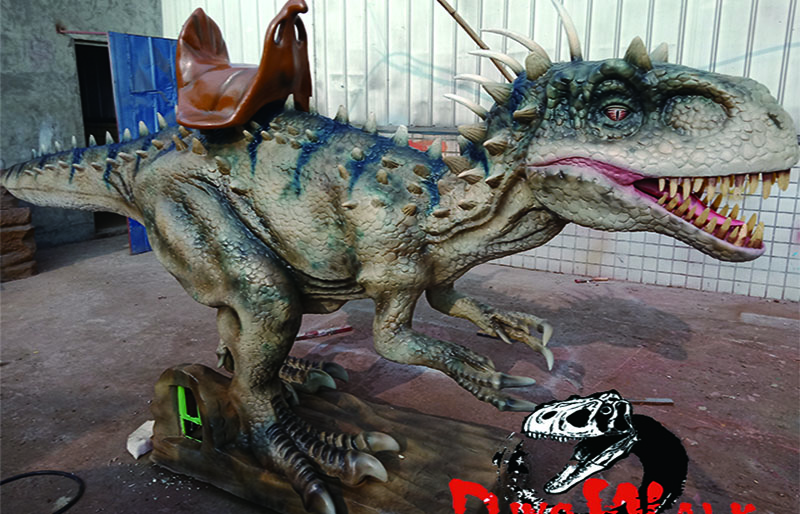 Mechanical hot dinosaurs dilophosaurus rides for sale