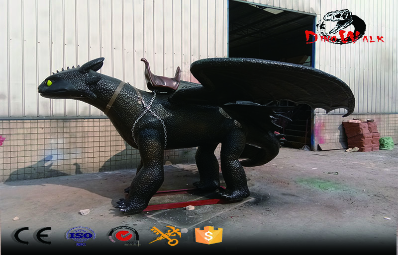 How to Train Your Dragon high quality animatronic dragon ride