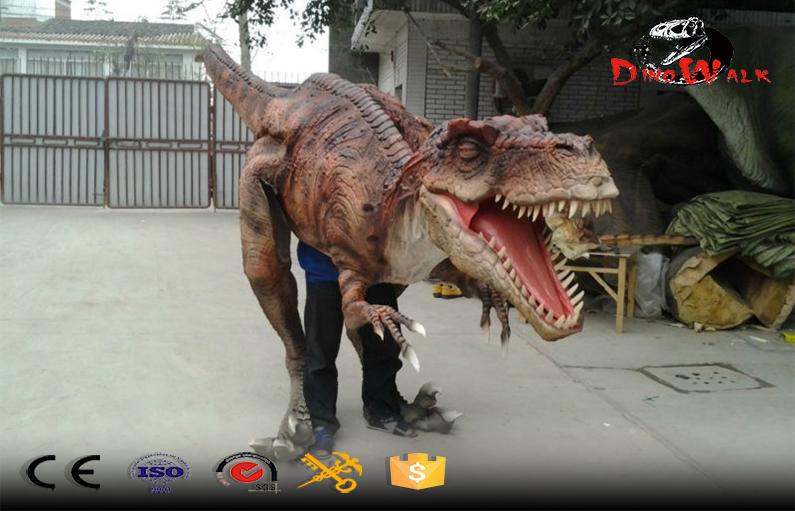 Jurassic Park Dinosaur Costume traje de dinosaurios animatronic
