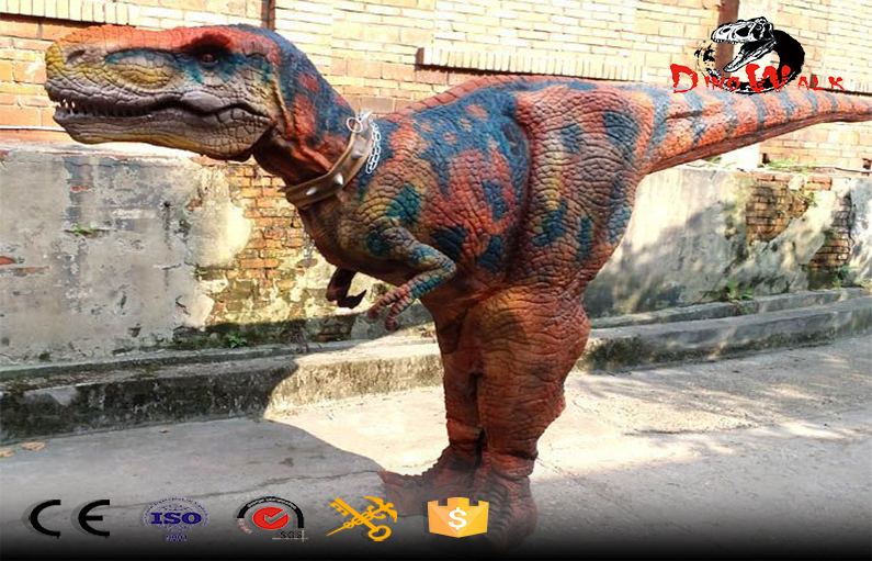 Best price hidden legs animatronic dinosaur suit T-rex costume