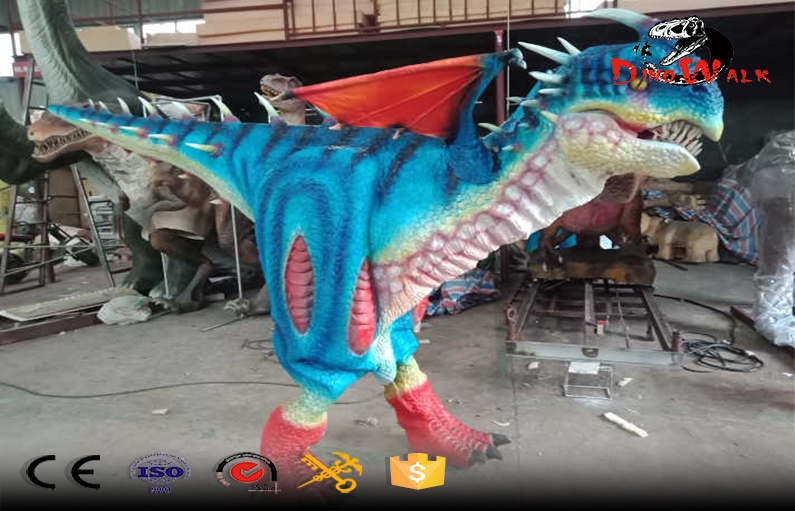 animatronic hidden legs dragon costumes