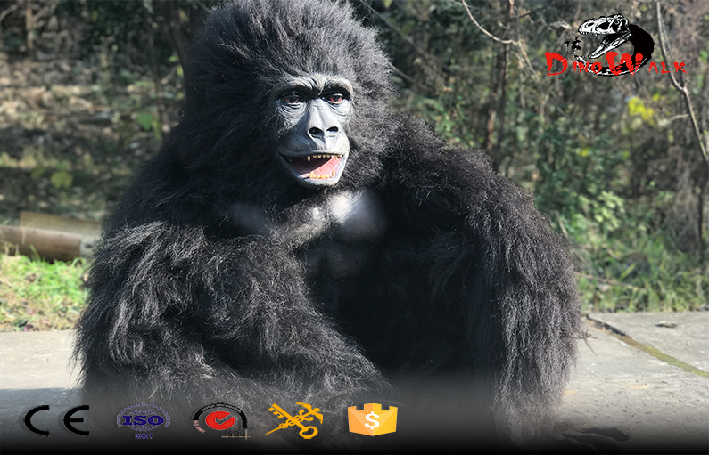 light weight animatronic gorilla costume