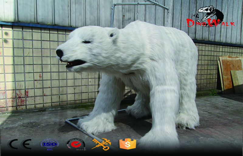 animal series life size realistic polar bear for zoo