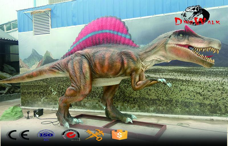 project theme park animatronic dinosaur model Spinosaurus