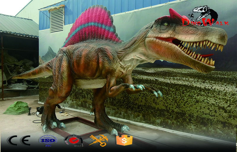 project theme park animatronic dinosaur model Spinosaurus