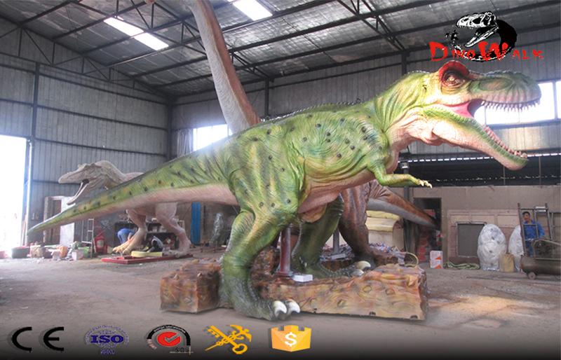 Remote Control BBC animatronic walking dinosaur T-rex model