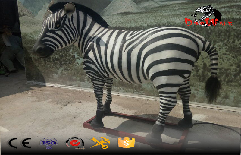 animal simulation series fiberglass zebra looking for sell
