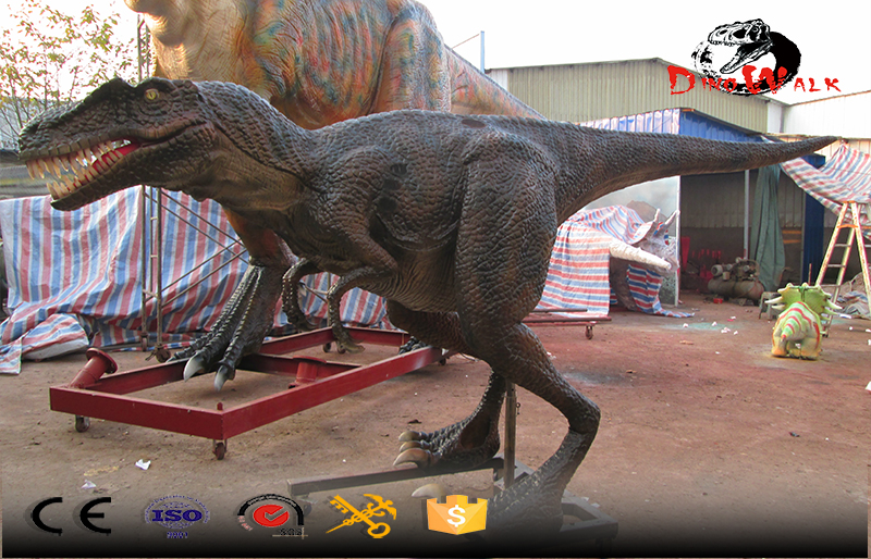 dinosaur simulation costumes with movement for shows entertainment