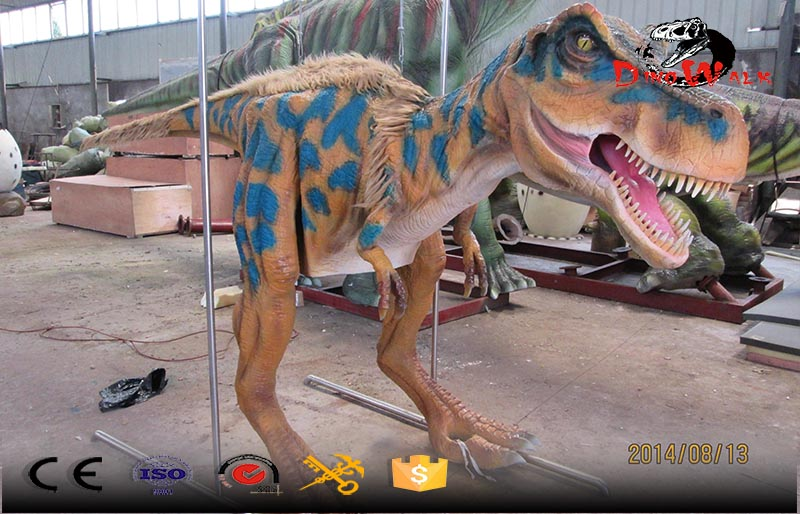 real dinosaur simulation costumes with feather