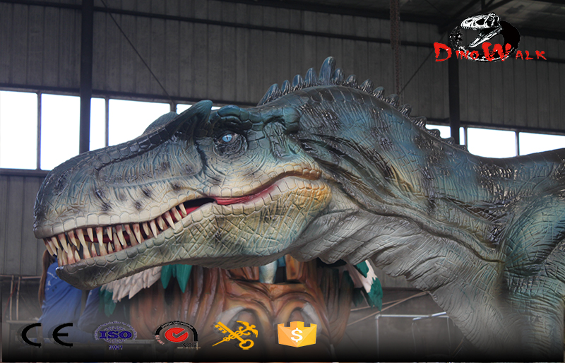 Jurassic park realistic life size dinosaur simulation model with movement and sound