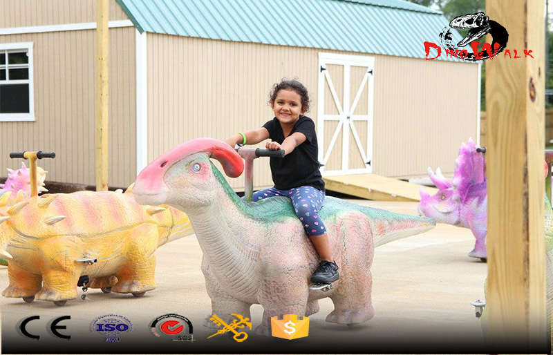 kids outdoor dinosaur ride small scooter for sale