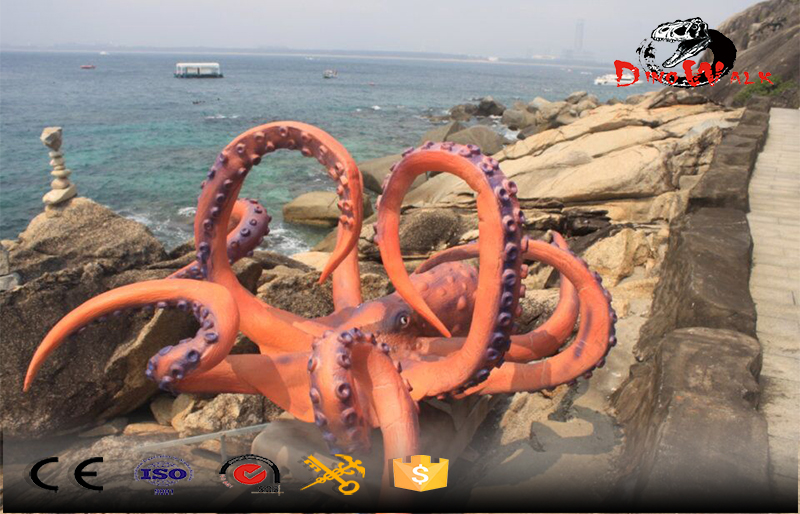 project Sanya out door display attractive octopus with many details