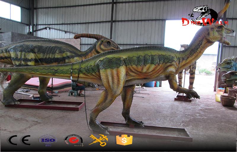 China exclusive dinosaur Tsintaosaurus real life size simulation model