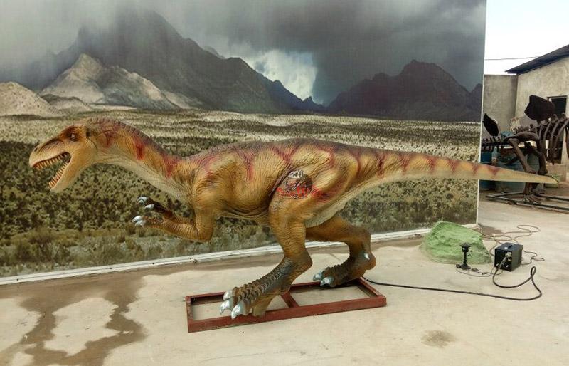 small size animatronic carnivores dinosaur simulation