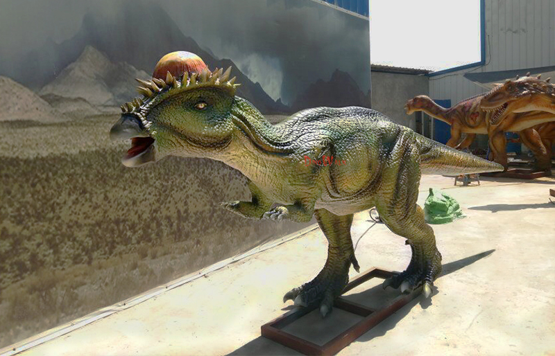 high quality animatronic dinosaur with movement simulation for amusement park