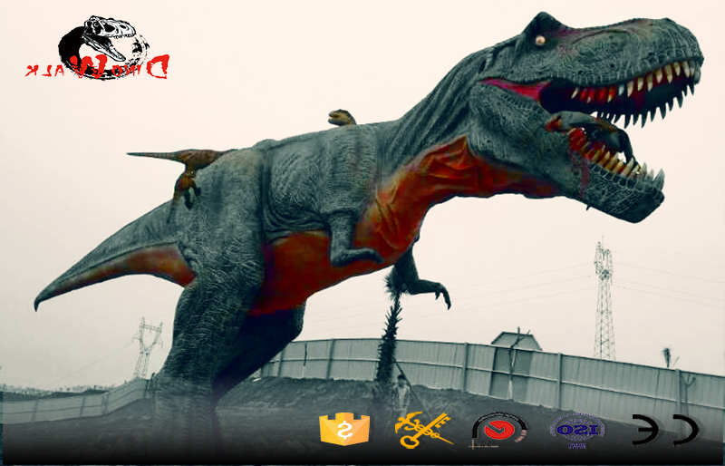 high quality 15m T-rex simulation out door display
