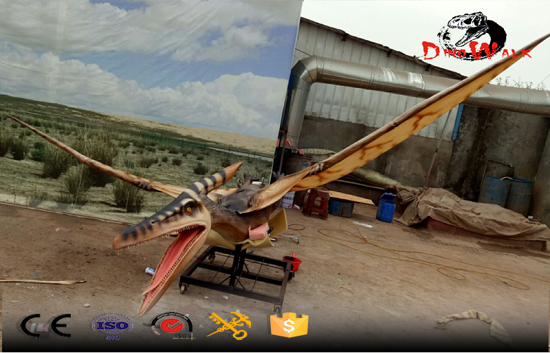 5m long animatronic peterosaur dinosaur with movement simulation