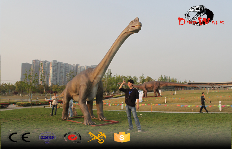 outdoor attractive factory direct supply animatronic big dinosaur