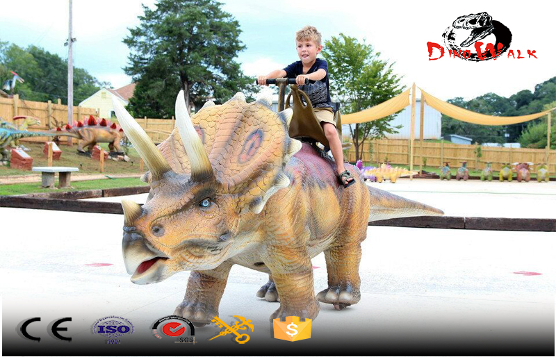 animatronic dinosaur rides walking series