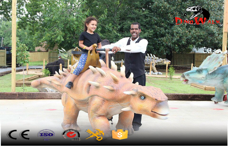 ride and walking with dinosaure animatronic walking dinosaur product