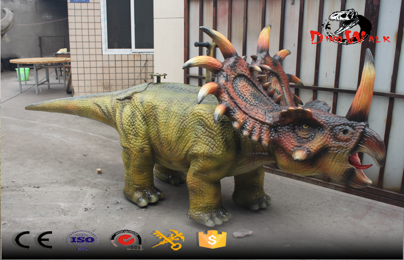 raiding animatronic dinosaure with walking function