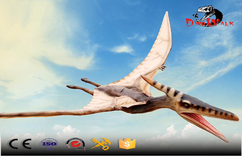 high quality animatronic dinosaur with flying simulation movement