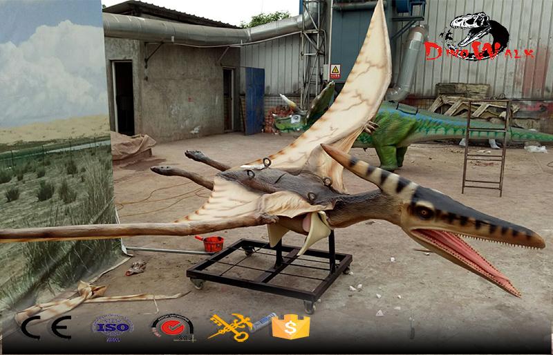 high quality animatronic dinosaur with flying simulation movement