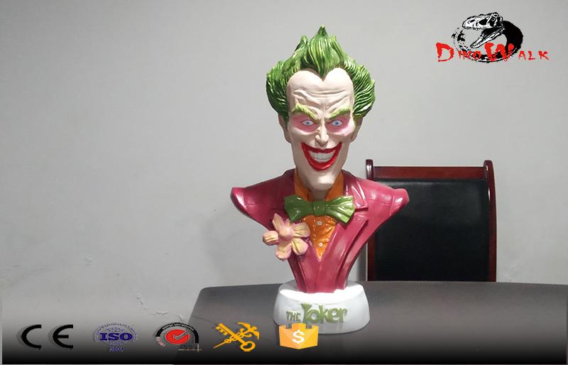 joker half body size sculpture hand made statue