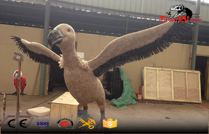 indoor decoration animatronics birds factory direct supply