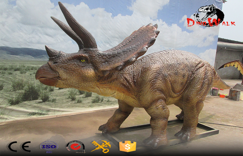 life size simulation dinosaur models will be sent to Russia