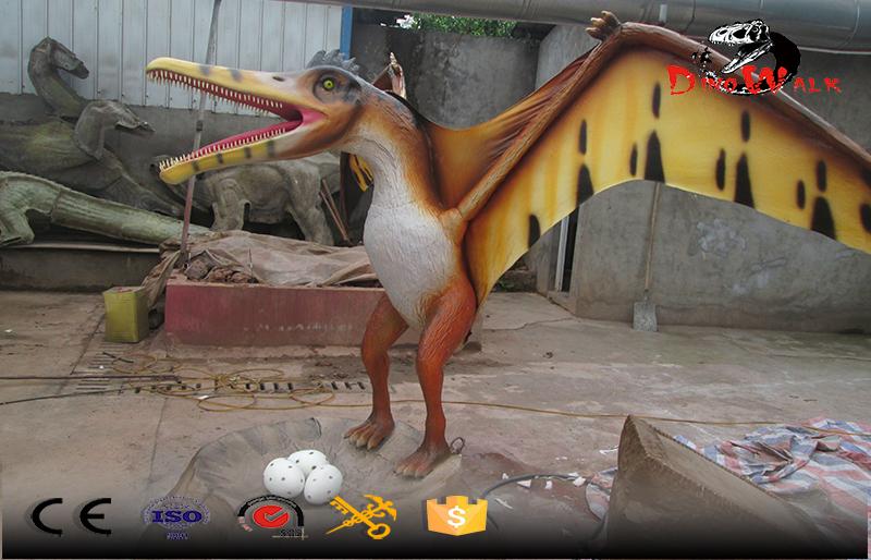 Standing pterosaur simulation animatronic dinosaur series