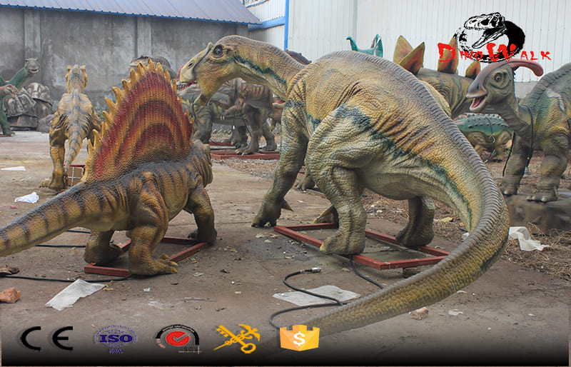 Animatronic outdoor dinoaure simulation big display decoration model