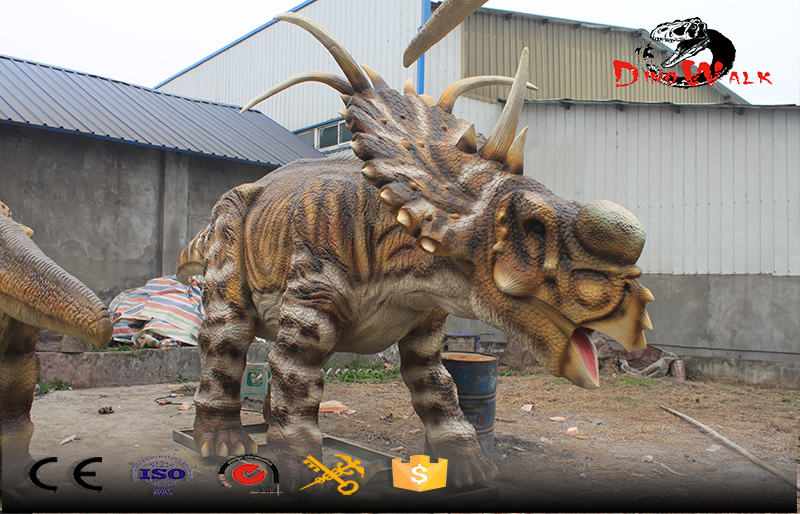 animatronic real life size dinosaure simulation outdoor display