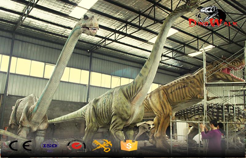 factory direct supply big size animatronic dinosaur simulation model
