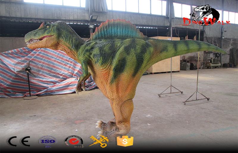 animatronic hidden legs Spinosaurus dinosaur costume